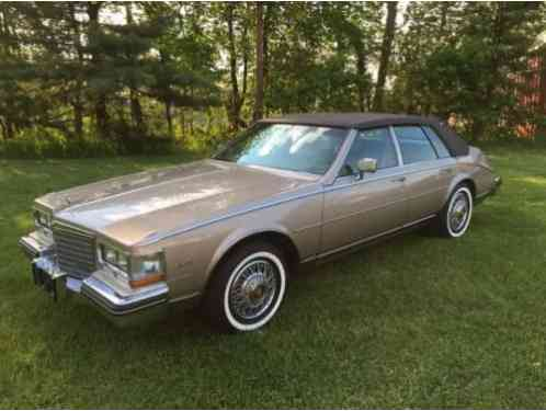Cadillac Seville 1985 Hi I Am Pleased To Offer My Collector Owned