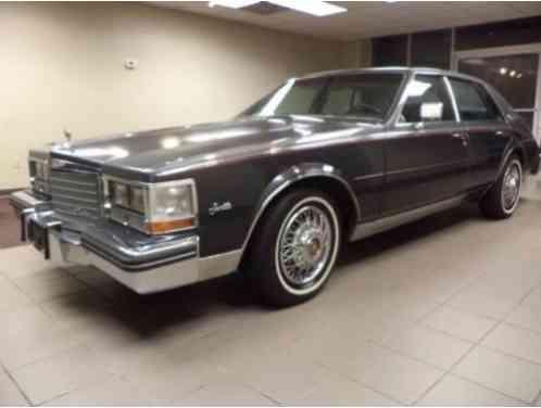 Cadillac Seville Elegante 1985 This Classic Bill Mitchell Design Set