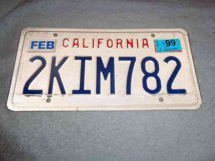 I lost my license plate manual pump truck