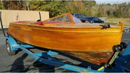 Chris Craft Replica Homemade (1980)