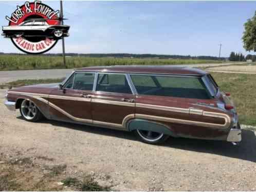 Mercury Colony Park Wagon -- (1962)