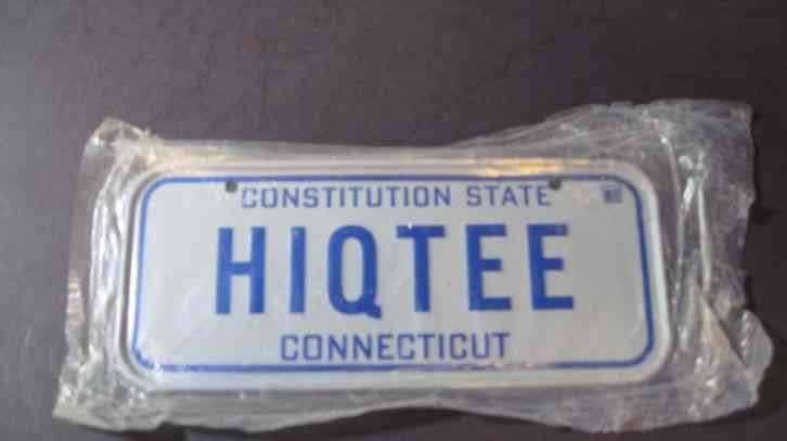 1952 Used Tag Vintage Connecticut Dealer License Plate Db