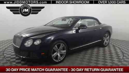 2012 Bentley Continental GT --
