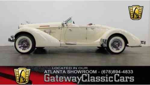 1936 Cord Speedster Tribute