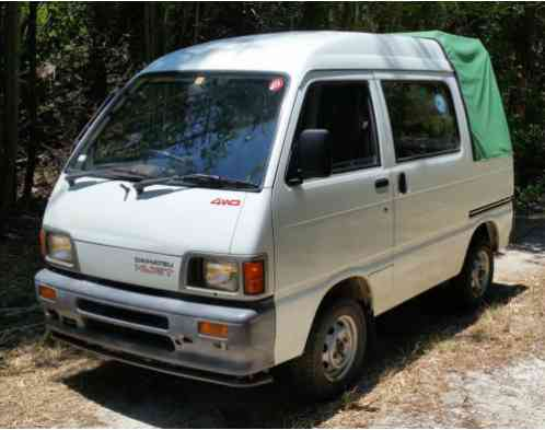 Daihatsu Hijet 4 Door Mini Truck 1991 No Reserve Bid To
