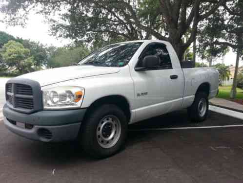 2008 Dodge Ram 1500 For Sale >> Dodge Ram 1500 Regular Cab Short Bed ST V6 2008, 79K -LOW ...