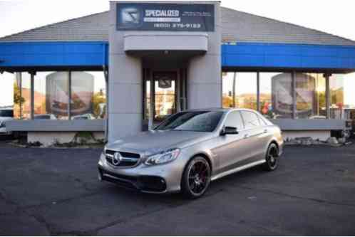2014 Mercedes-Benz E-Class E 63 AMG S Model AWD 4MATIC 4dr Sedan