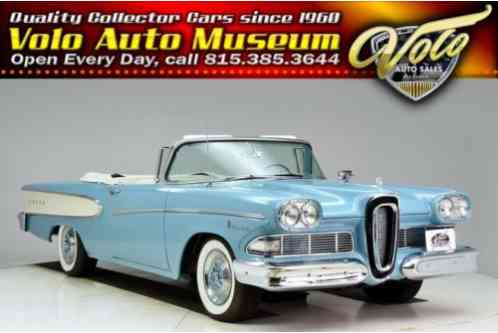 Edsel Pacer -- (1958)