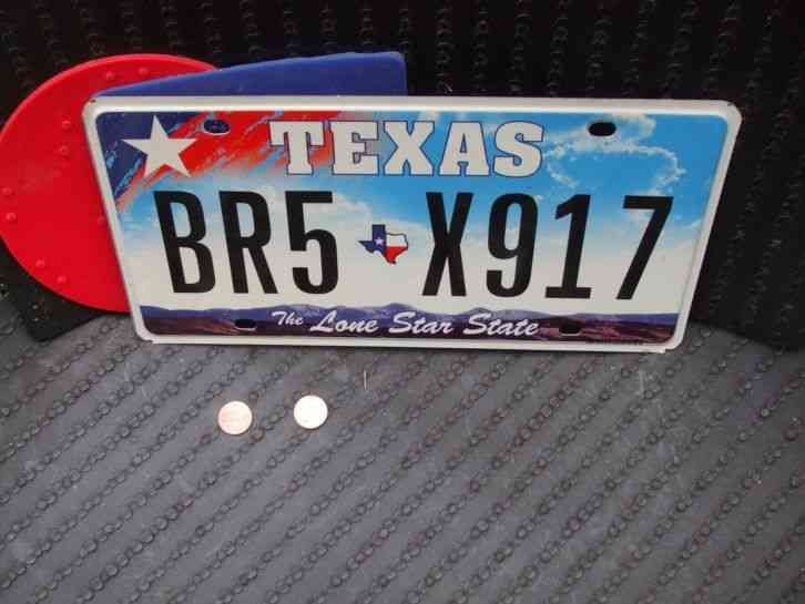 Used Cars For Sale In Oklahoma >> VINTAGE 1966 TEXAS TX. TRUCK LICENSE PLATE