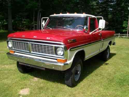 Ford Shelby Truck Price >> Ford F-250 1970, Very Nice Used F250 4X4 Ranger Some Call it a HighBoy