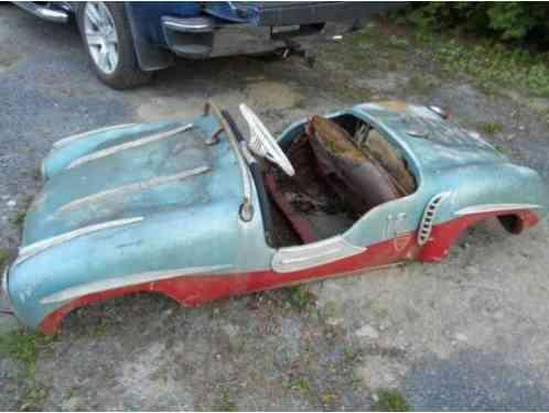 Gebr Ihle Bruchsal Mercedes Sl 300 Amusement Car Very Rare 1955 12