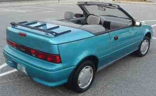 Geo Metro LSI Convertible 1993, Selling a with Automatic Transmission