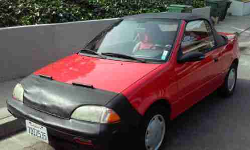 Honda Of Pasadena >> Geo Metro 1991, LSI Convertible, Two seater, 3 cylinder ONE Litter