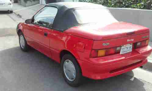 Geo Metro 1991, LSI Convertible, Two seater, 3 cylinder ...
