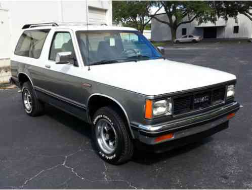 GMC Jimmy 1989, Up for auction is my S15 , This is being