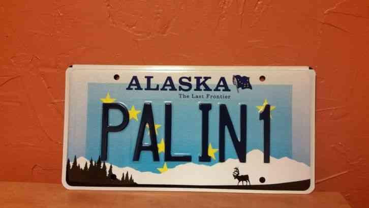 Alaska 2007 Purple Heart License Plate Vph 584
