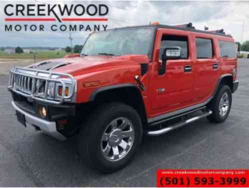 2009 Hummer H2 4x4 6. 2L Lthr Nav Roof Tv Dvd Chrome 20s RARE SUV Luxury