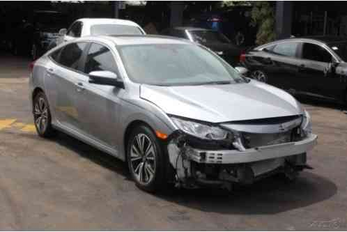 Honda Civic EX L 4dr Sedan (2017)