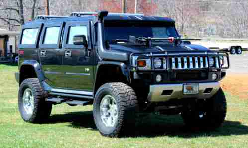 Hummer H2 2007 Lifted And Custom Upgraded Grew