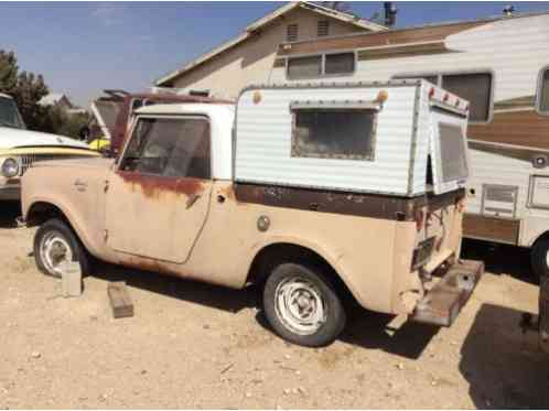 International Harvester Scout 1962 Here Is A Very Cool Pickup This Is