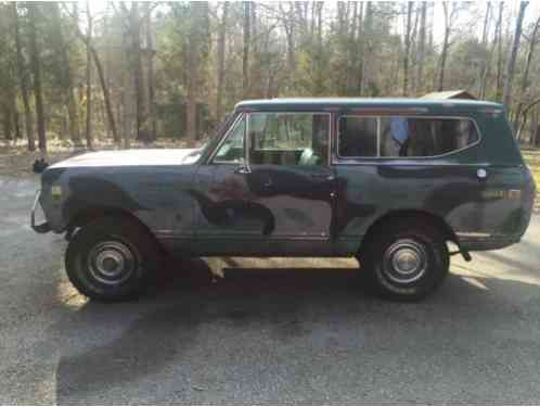 International Harvester Scout scout II 1973, Up for sale is
