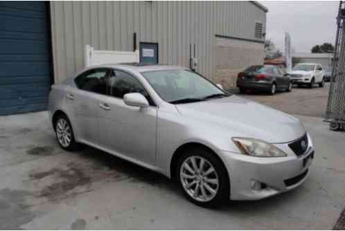 2006 Lexus IS 2. 5L Sport Automatic All Wheel Drive Sedan