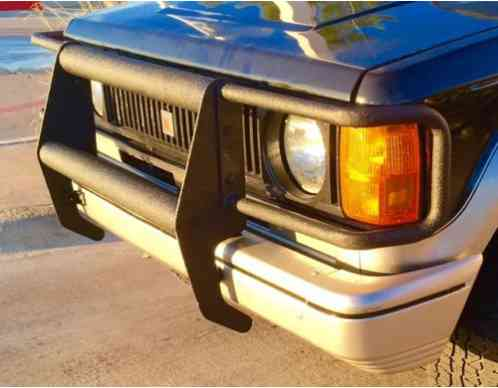 Isuzu Trooper 1989 I Have Totaly Restored This Vehicle Ive Replaced
