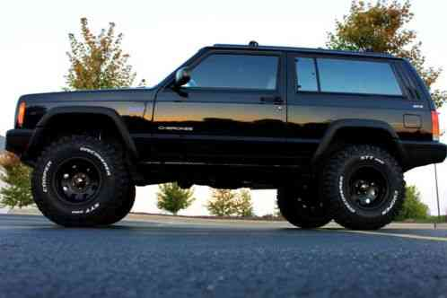 Lifted Jeep Wrangler For Sale >> Jeep Cherokee BLACK LIFTED 2 DOOR XJ Sport 4, 0 4X4 105k Miles 1998, L