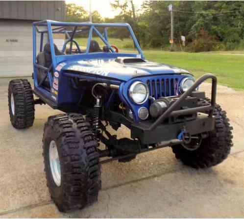 Jeep CJ CJ 5  7L EFI ROCK CRAWLER HYDRA STEER 1 TON 4 LINK (1985)
