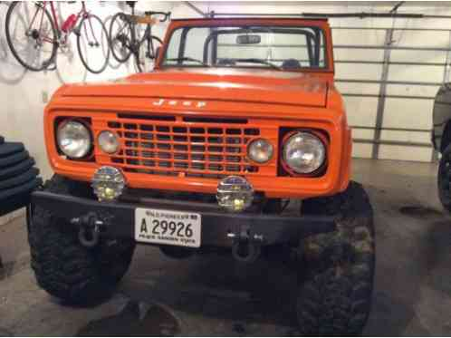 Jeep Commando 1972, with 70 Cadillac 472, turbo 400 with