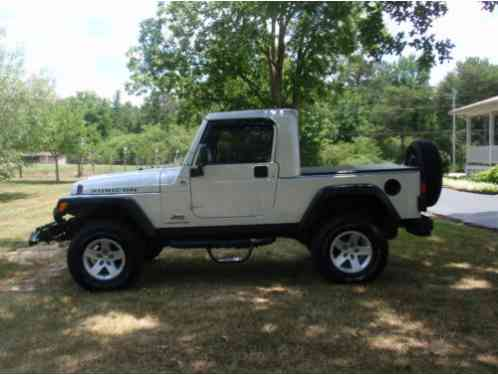 Jeep Wrangler 2005 This Attention Getting Rubicon Limited Has Been