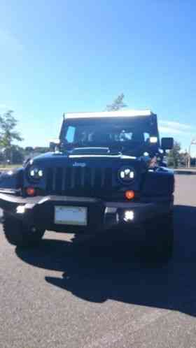Jeep Wrangler Call Of Duty Mw3 Special Edition 2012