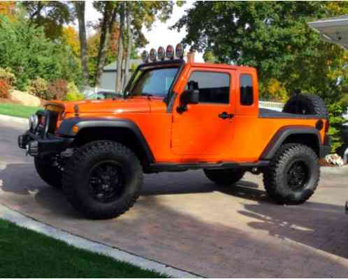 Jeep Jk 8 >> Jeep Wrangler Jk 8 2012 Pickup Conversion With Custom Finishes By Will