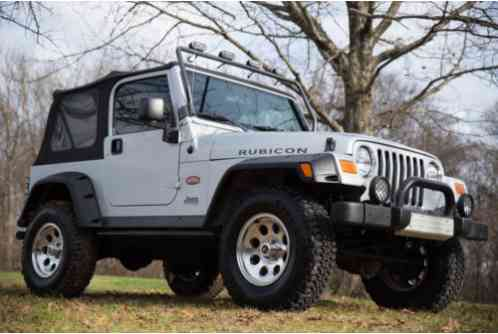 Jeep Wrangler Rubicon Tomb Raider Edition 2003 You Are
