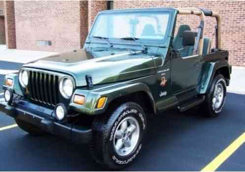 Jeep Wrangler Fog Lights >> Jeep Wrangler 1997, Green Sahara Edition is in beautiful condition with