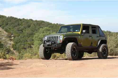 Jeep Wrangler 2010 Rescue Green Metallic 4dr Jk With Roughly 43 800