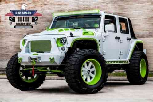 c256cf955bf Jeep Wrangler Unlimited Sport 4x4 Custom Paint Matched 2016
