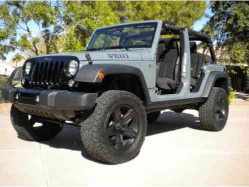 Grey Jeep Wrangler >> Jeep Wrangler 2015 Unlimited Jk Willy S Wheeler In Anvil