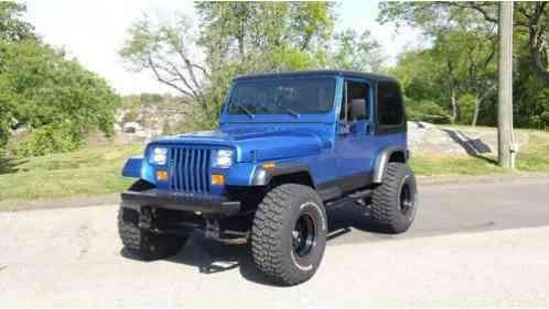 Jeep Bimini Top >> Jeep Wrangler YJ 1989, 4X4 with the hard top, the soft top, the bimini
