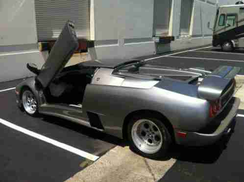 1900 Lamborghini Diablo Roadster Offered For Sale Body And Chassis By