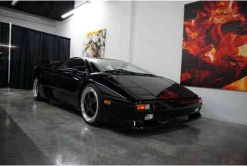 Lamborghini Diablo Sv 1998 Stunning Example Of A Very
