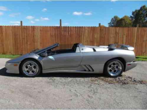 Lamborghini Diablo Vt 1997 Lhd Roadster Originally Owned And Car