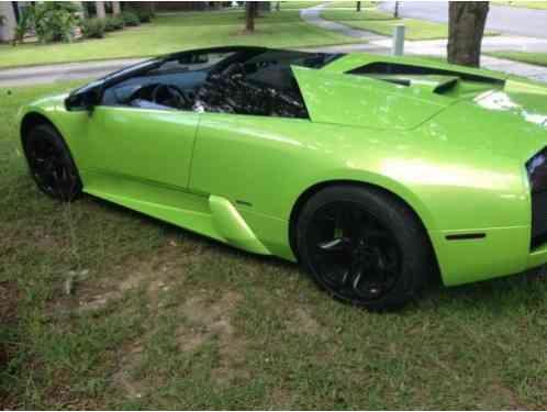 Lamborghini Murcielago 2005 Roadster Egear In Verde Ithaca 6 2 Litre