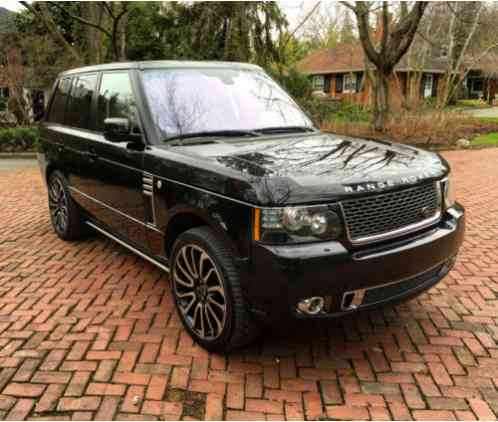 Land Rover Range Rover 2012, Autobiography Ultimate EditionMileage: 40
