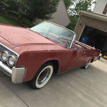 Lincoln Continental 1962 Convertible Partly Restored 62 72