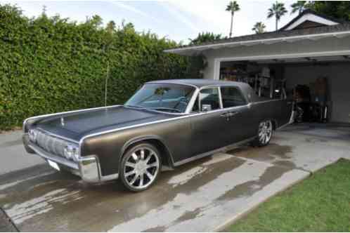 Lincoln Continental 1964 Suicide Doors Matte Black Exterior With