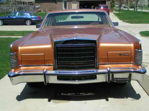 Lincoln Continental Town Car 1978 Coupe 2 Door One Owner 12 010 Miles