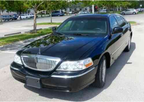 Lincoln Town Car Executive L 2011 126 000 Mies The Is A Big 6