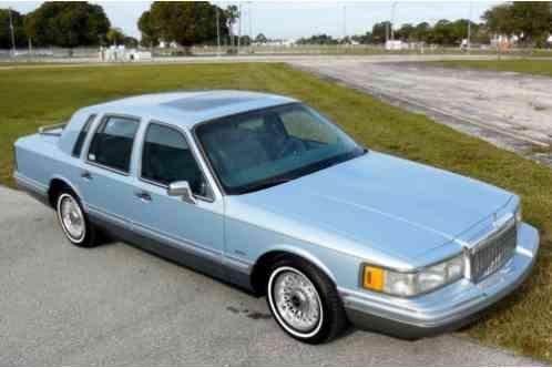 Lincoln Town Car Florida No Rust No Accident Signature Sharp Car 1993
