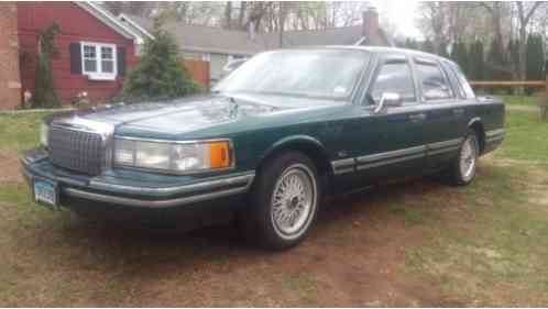 Lincoln Town Car Jack Nicklaus 1993 Runs Well Was My Fathers Front